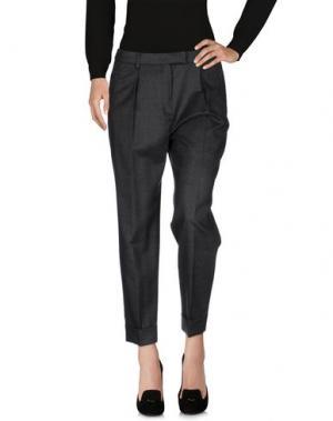 Повседневные брюки ROOM 52. Цвет: свинцово-серый