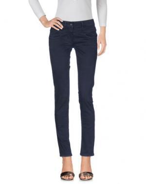 Джинсовые брюки ALYSI. Цвет: стальной серый
