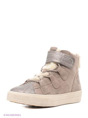 Ботинки Tamaris. Цвет: бежевый