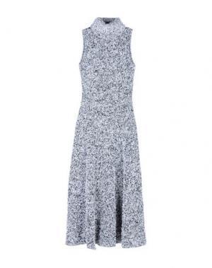 Длинное платье CHARLOTT. Цвет: белый