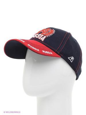 Бейсболка Russia Atributika & Club. Цвет: черный, красный
