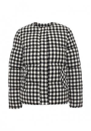 Куртка LOST INK. Цвет: черно-белый