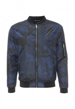 Куртка Brave Soul. Цвет: синий