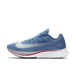 Мужские беговые кроссовки  Zoom Fly Nike. Цвет: синий