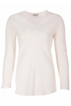 Полуприлегающая блуза с длинными рукавами AF PHILOSOPHY DI A.FERRETTI. Цвет: белый
