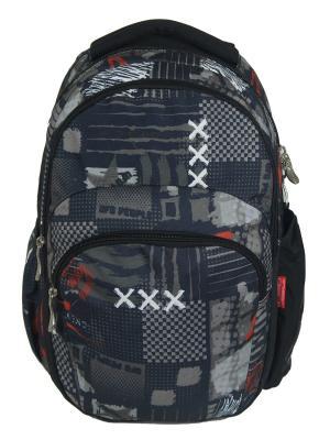 Рюкзак UFO PEOPLE. Цвет: черный, серый