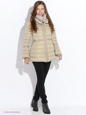 Куртка SNOWIMAGE. Цвет: светло-коричневый