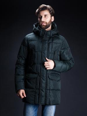 Зимняя куртка Clasna. Цвет: темно-зеленый
