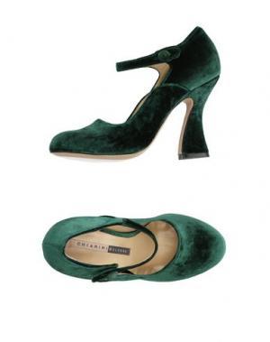 Туфли CHIARINI BOLOGNA. Цвет: зеленый
