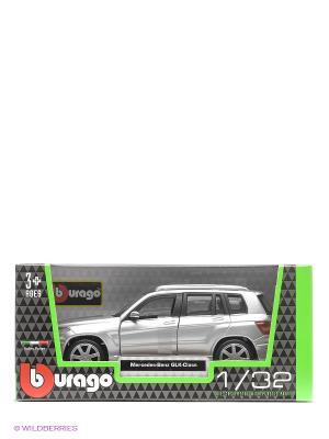 Машина MERCEDES-BENZ GLK-CLASS металл 1:32 BB Bburago. Цвет: серебристый