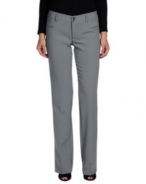 Повседневные брюки LIST. Цвет: светло-зеленый