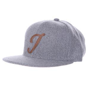 Бейсболка  Abc Wool Edition J Grey TrueSpin. Цвет: серый