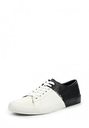 Кеды Calvin Klein Jeans. Цвет: черно-белый