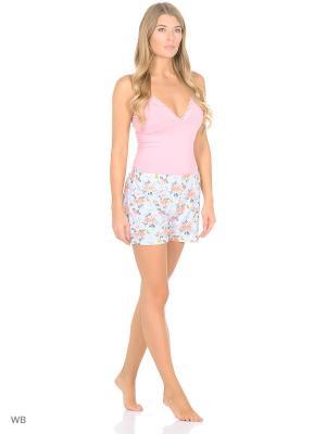 Пижама Linse. Цвет: розовый