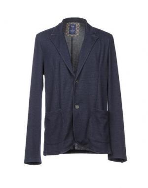 Пиджак WOOL & CO. Цвет: темно-синий