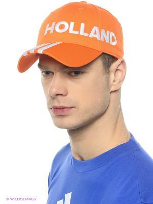 Кепка Cf 3s Cap Hol Adidas. Цвет: оранжевый