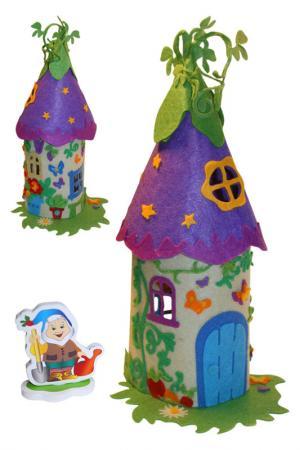 Шьем волшебный домик Гномика Креатто. Цвет: красный