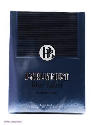 Туалетная вода PARLIAMENT BLUE LABEL EDT 100 ML SPRAY PARFUMS GENTY. Цвет: прозрачный