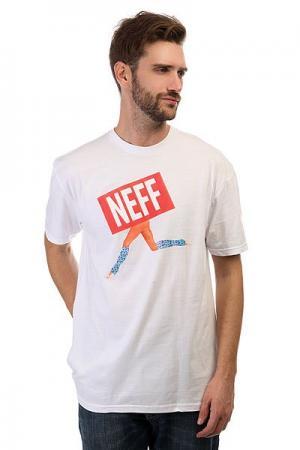 Футболка  Gone White Neff. Цвет: белый