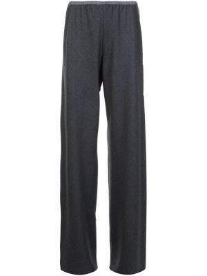 Широкие брюки Peter Cohen. Цвет: серый