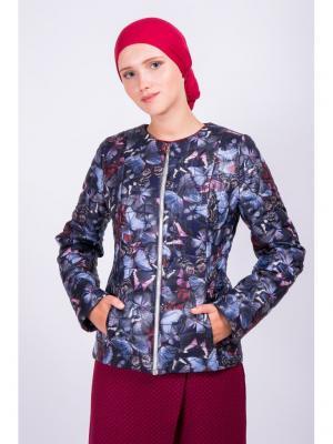 Куртка Bella kareema. Цвет: фиолетовый