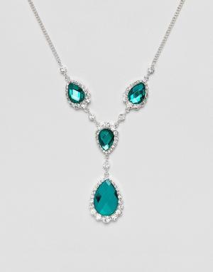 Johnny Loves Rosie Ожерелье с камнями зеленого цвета. Цвет: зеленый