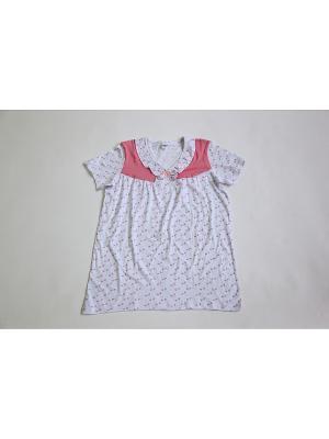 Пижама Proto. Цвет: белый, розовый