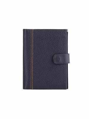 Бумажник водителя FABULA. Цвет: синий