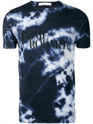 Love Hate tie dye T-shirt Rodarte. Цвет: синий