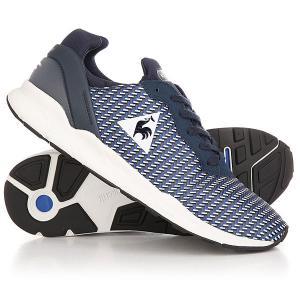 Кроссовки  Lcs R Xvi Geo Jacquard Dress Blue Le Coq Sportif. Цвет: синий,белый