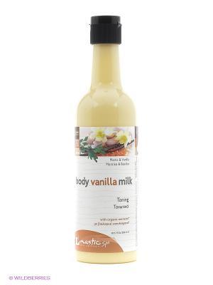 Молочко для тела тонизирующее Body vanilla milk Mastic Spa. Цвет: бежевый