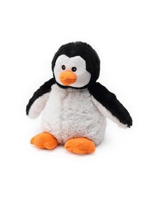 Игрушка-грелка Пингвин Warmies. Цвет: белый