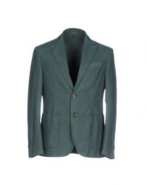 Пиджак DOMENICO TAGLIENTE. Цвет: темно-зеленый