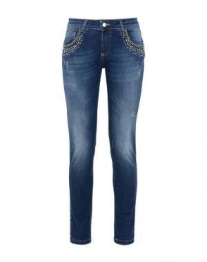 Джинсовые брюки JOLIE by EDWARD SPIERS. Цвет: синий