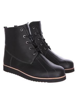 Ботинки зимние Rheinberger Classic Tim Leath Black: мужские, 12280, 40. Цвет: черный