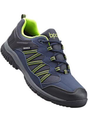 Трекинговые кроссовки Comfortex (темно-синий/желтый) bonprix. Цвет: темно-синий/желтый