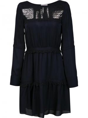 Платье Darby Tanya Taylor. Цвет: синий