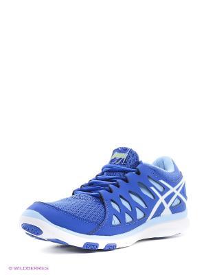 Кроссовки GEL-FIT TEMPO 2 ASICS. Цвет: голубой, белый, фиолетовый