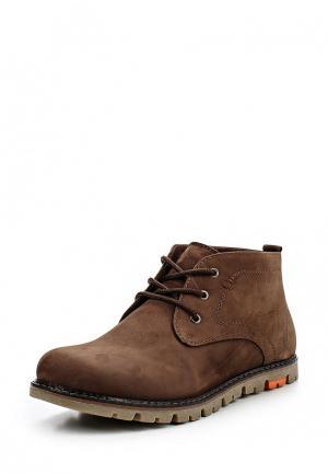 Ботинки Terra Impossa. Цвет: коричневый