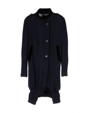 Пальто HIGH. Цвет: темно-синий
