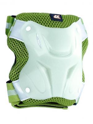 Роликовая защита CK NEONPAD СК Спортивная Коллекция. Цвет: светло-зеленый