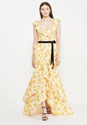 Платье To be Bride. Цвет: желтый