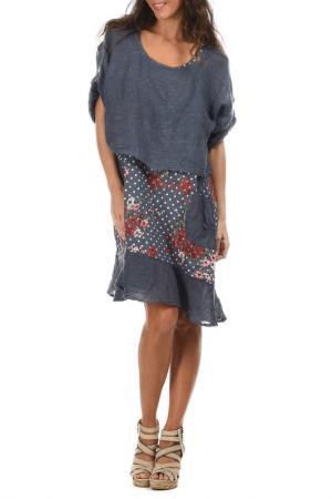 Платье LIN POUR LAUTRE L'AUTRE. Цвет: синий