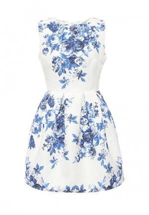 Платье Taya. Цвет: белый