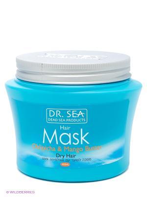 Маска для волос с маслами облепихи и манго, 350 мл. Dr. Sea. Цвет: белый
