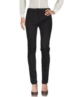 Повседневные брюки MAURIZIO PECORARO. Цвет: темно-коричневый