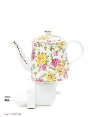Ночник Чайник 2 Pavone. Цвет: желтый, белый, зеленый, розовый