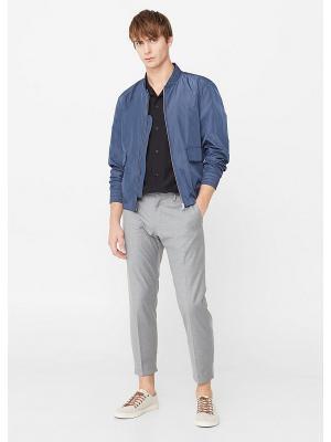 Куртка - NOBILI MANGO MAN. Цвет: темно-синий