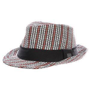 Шляпа  Lavinsky Fedora Black Globe. Цвет: белый,черный