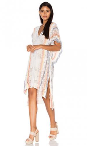 Платье-сарафан livia Goddis. Цвет: румянец